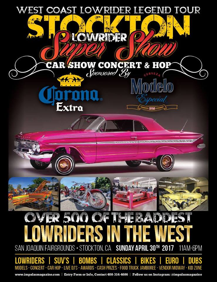 Stockton Lowrider Super Show Car Show Concert Hop Events - Streetlow car show 2018