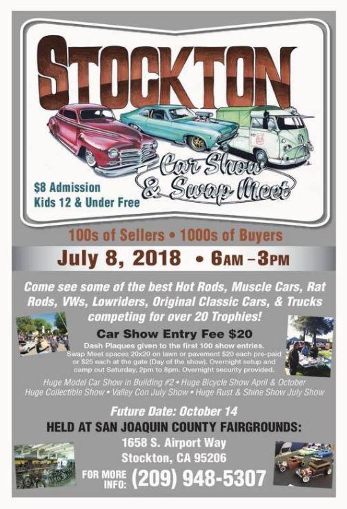 Stockton Swap Meet Car Show Events Visit Stockton
