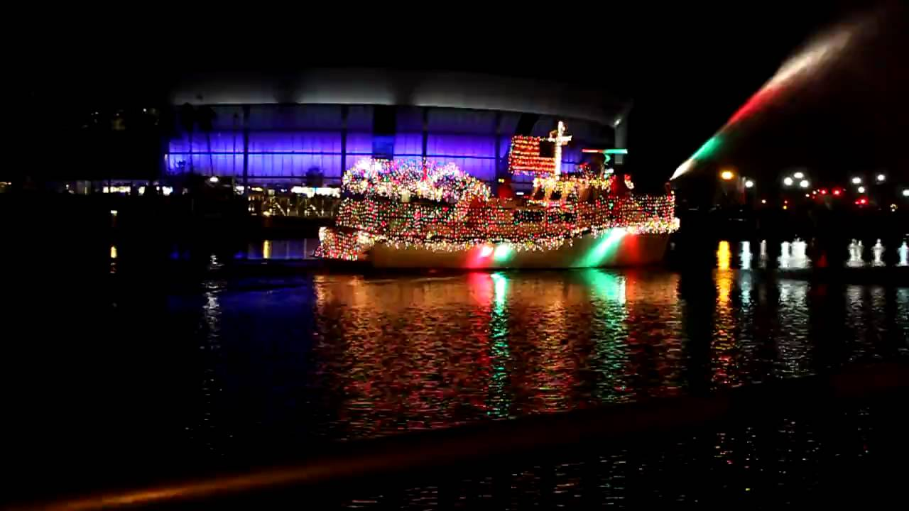 annual lighted boat parade in downtown stockton events visit