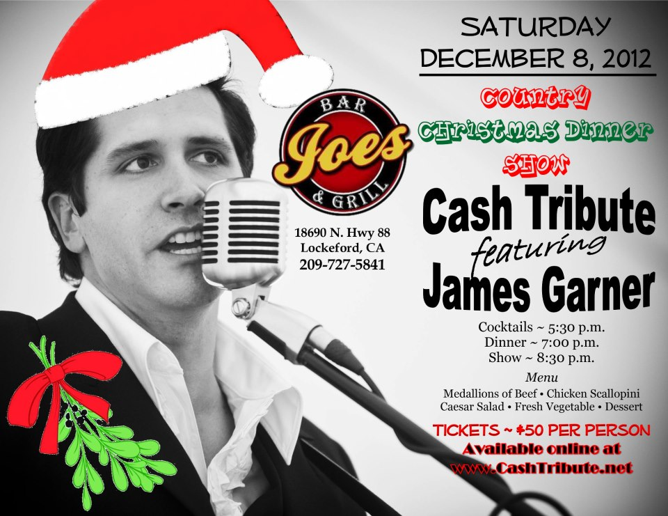 Johnny Cash Tribute Christmas Show - Events - Visit Stockton