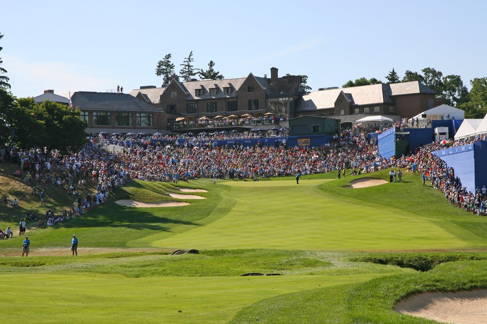Crowd at RBC Canadian Open 2012