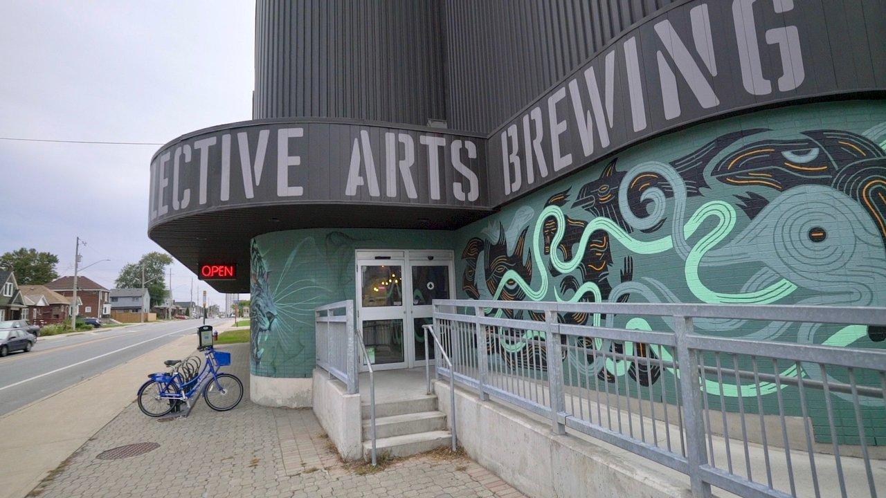 Collective Arts Brewing exterior