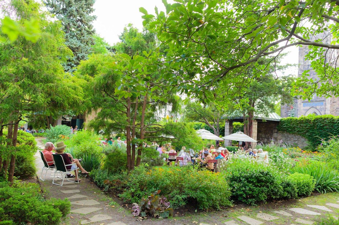 Wednesdays at Whitehern in the garden