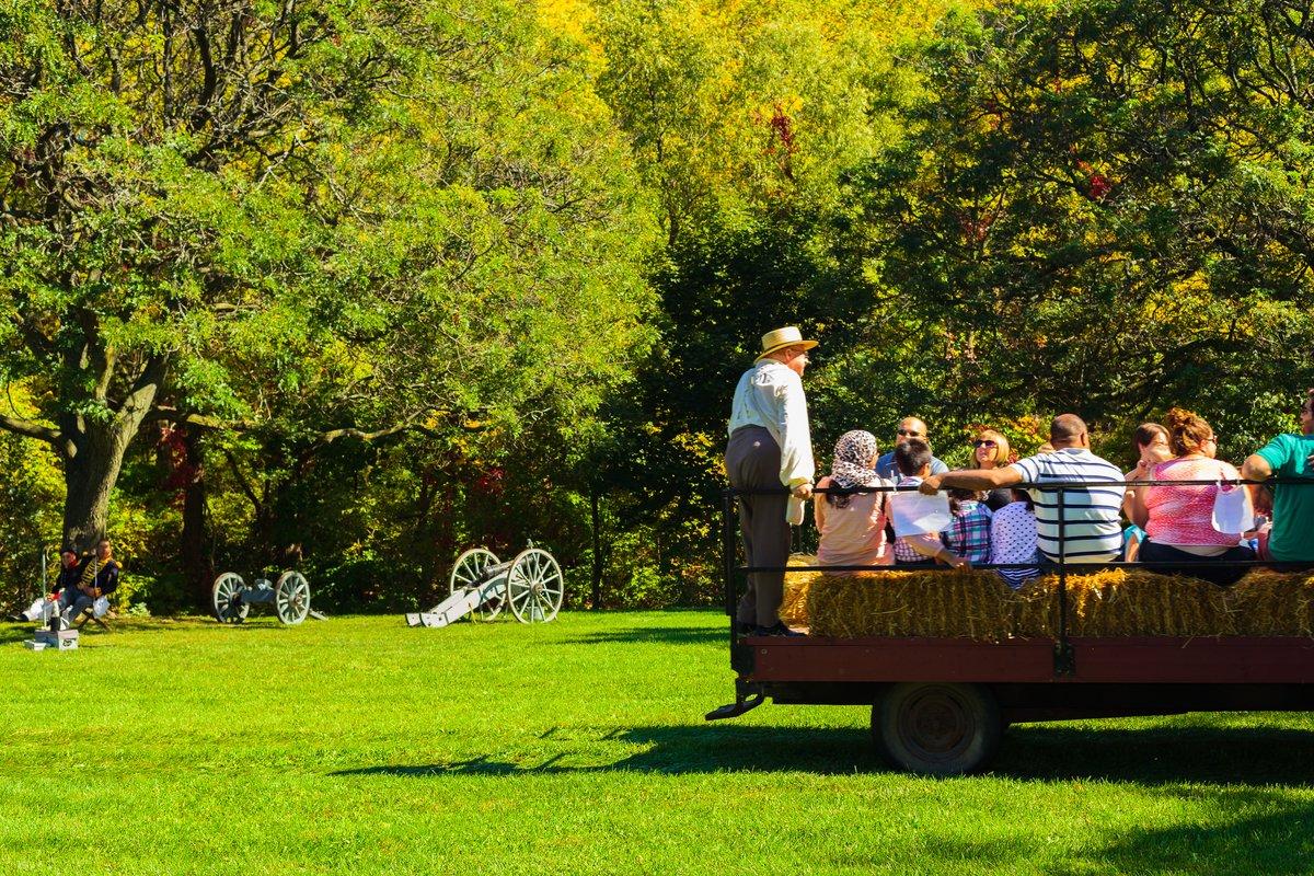Battlefield tractor ride