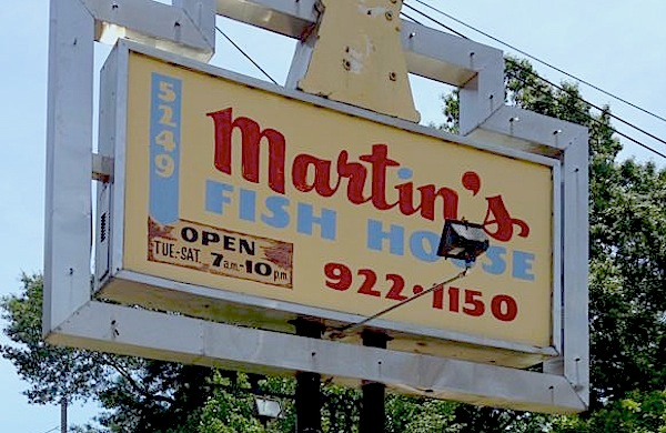 Good eats for Martins fish house