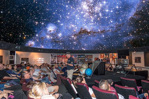 California Rv Show >> Schreder Planetarium | VisitRedding.com