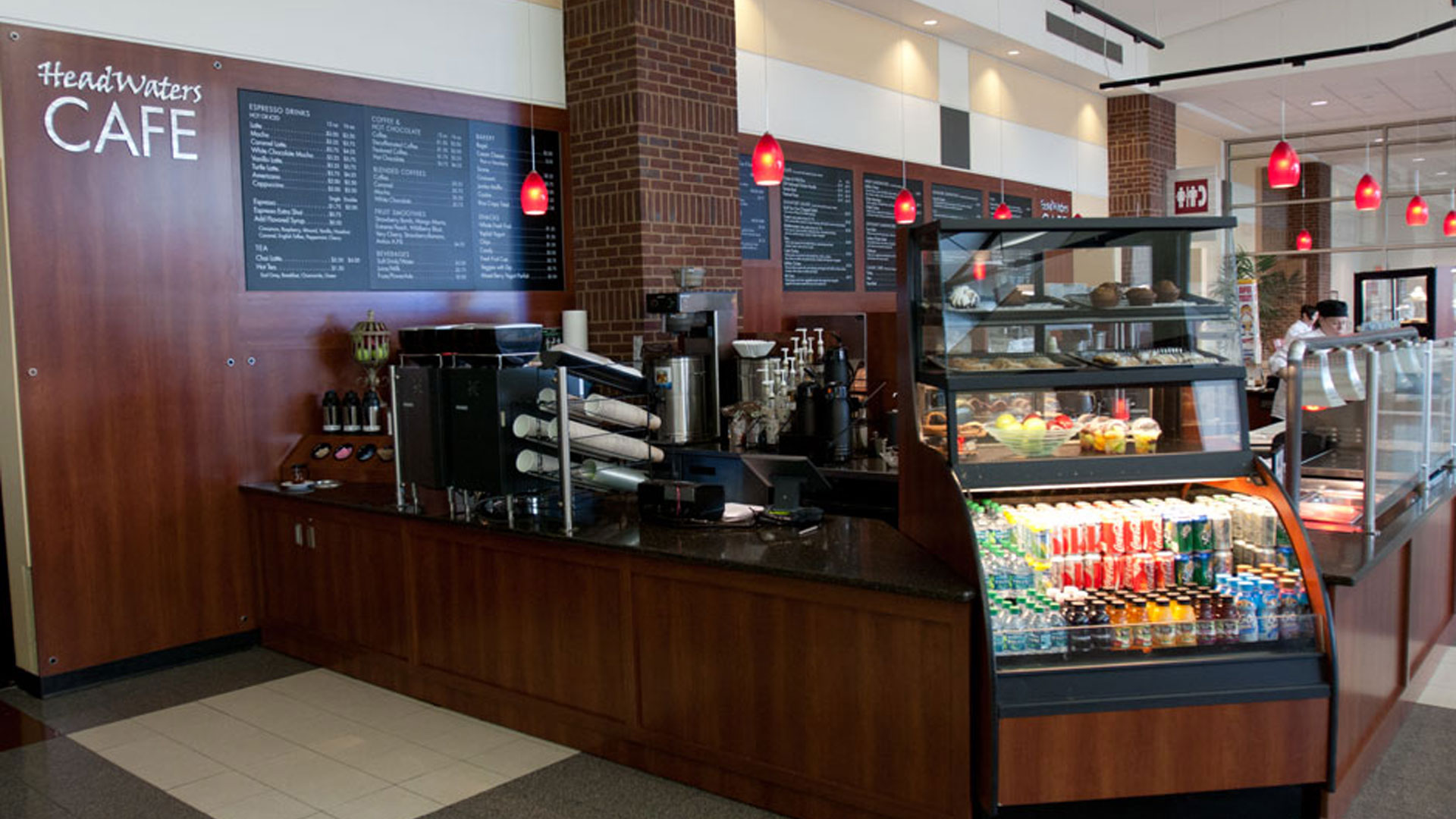 Headwaters Cafe at RiverCentre