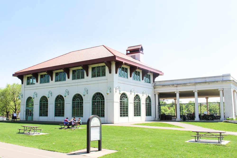 Spring Cafe at Como Lake Pavilion
