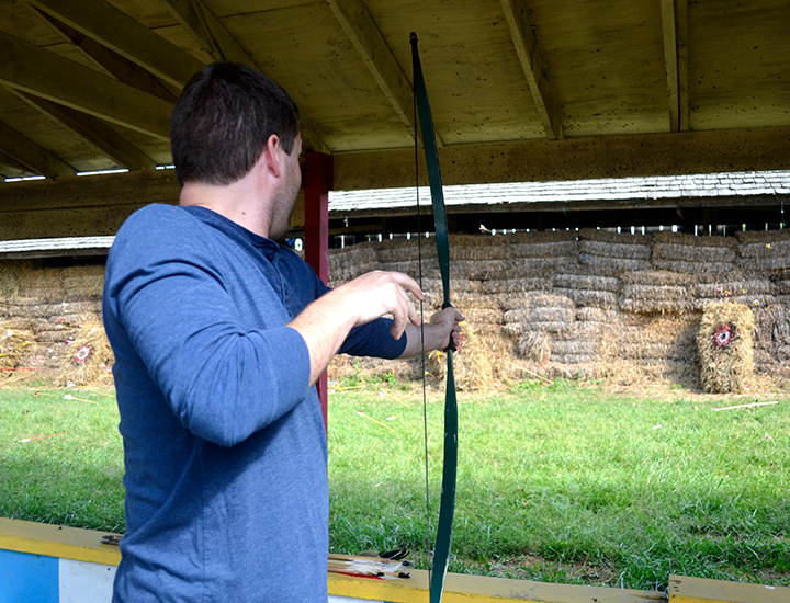 Archery and Skill Games at the Ohio Renaissance Festival