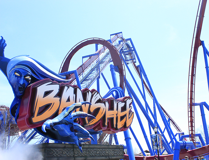 Banshee Roller Coaster | Kings Island
