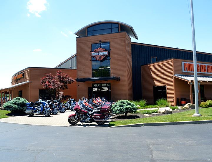 Powder Keg Harley Davidson