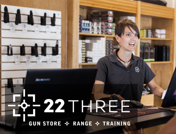 22Three Gun Store, Range & Training