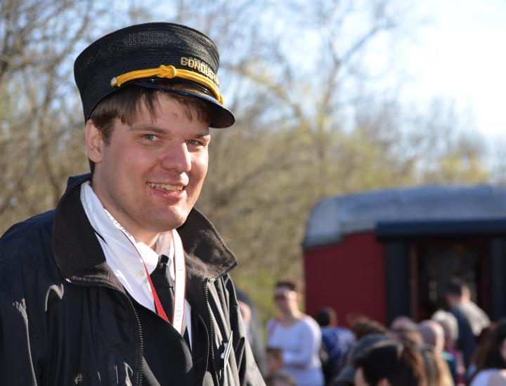 Meet a real train engineer   Lebanon Mason & Monroe Railroad
