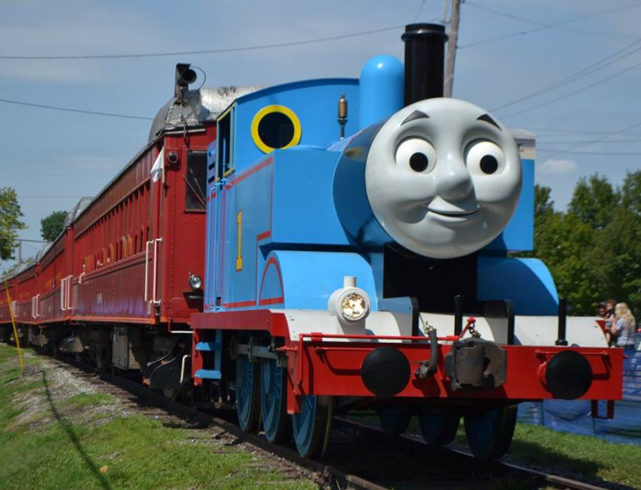 Ride Thomas The Train at LM&M Railroad   Lebanon, Ohio