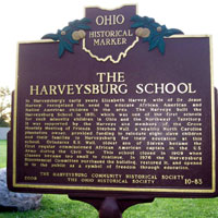 Harveysburg First Free Black School