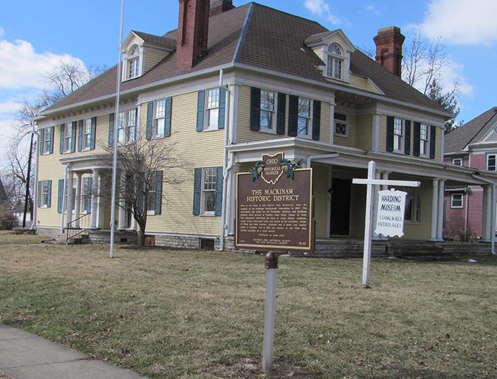 Franklin Historical Society Harding Museum