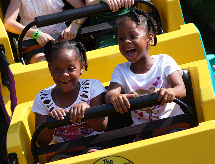 Family fun at Kings Island Amusement Park