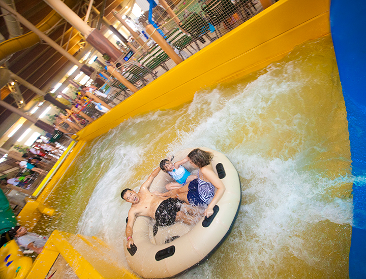 Great Wolf Lodge | Canyon River Run inner tube ride
