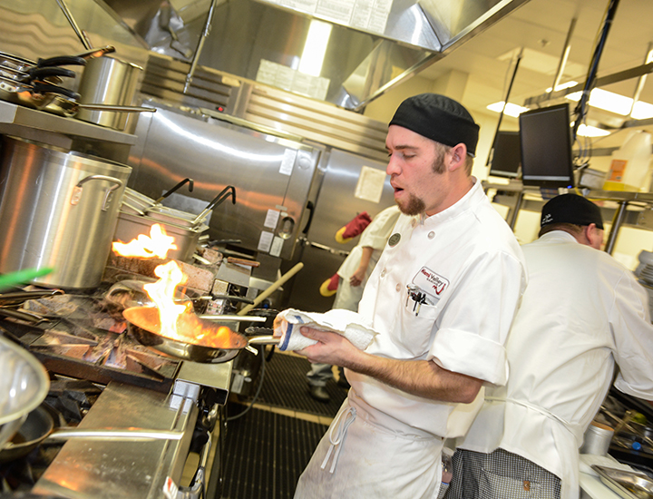 Gourmet Chefs cooking at Miami Valley Gaming