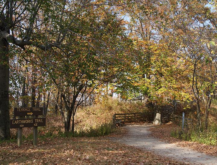 Fort Ancient Earthworks & Nature Preserve Hiking Trails