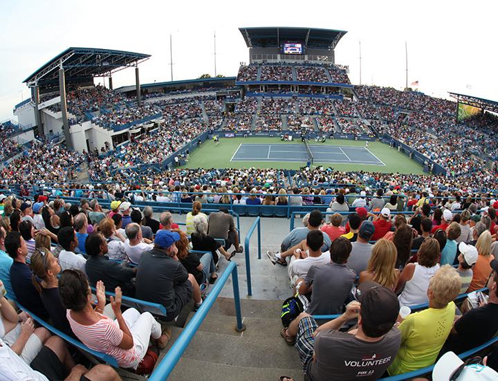 Center court | Western & Southern Open in Cincinnati, Ohio