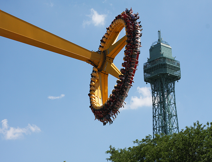 Delirium Ride at Kings Island