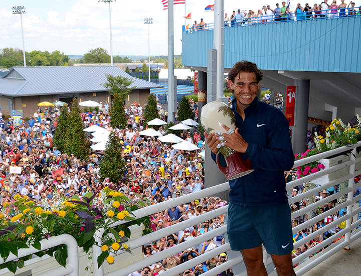 Rafael Nadal in Cincinnati | Western & Southern Open