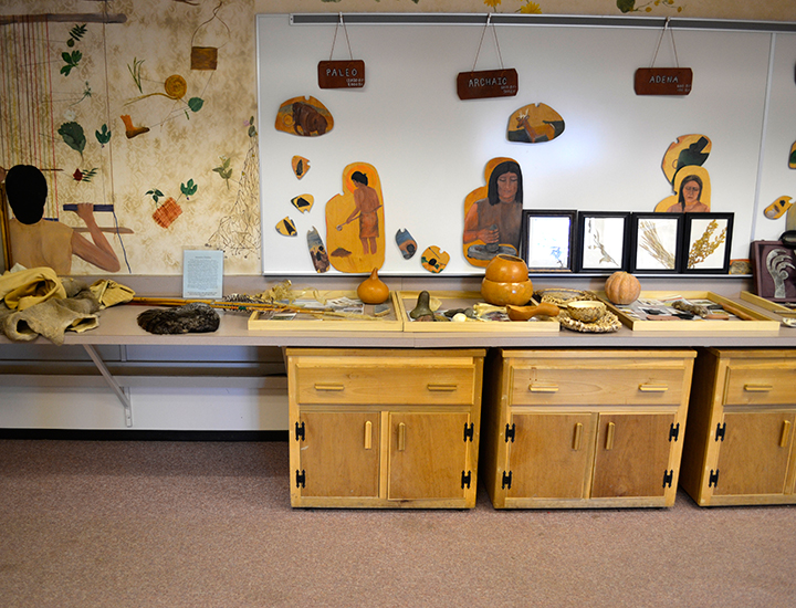 Early american artifacts from Southwest Ohio | Fort Ancient Earthworks & Nature Preserve