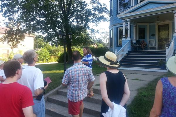 Walking Tour of Jefferson Avenue Historic District