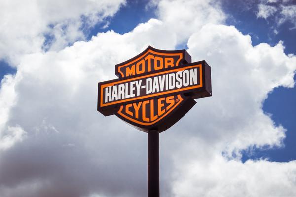Boardtracker Harley-Davidson