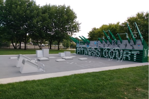 Outdoor Fitness Court Demo Days