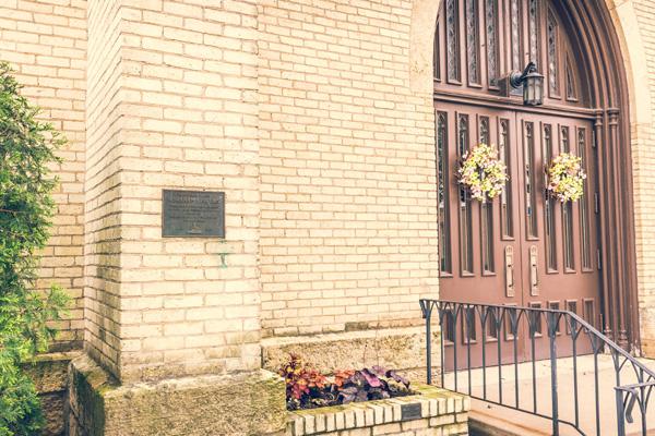 Abraham Lincoln - First Congregational Church Marker