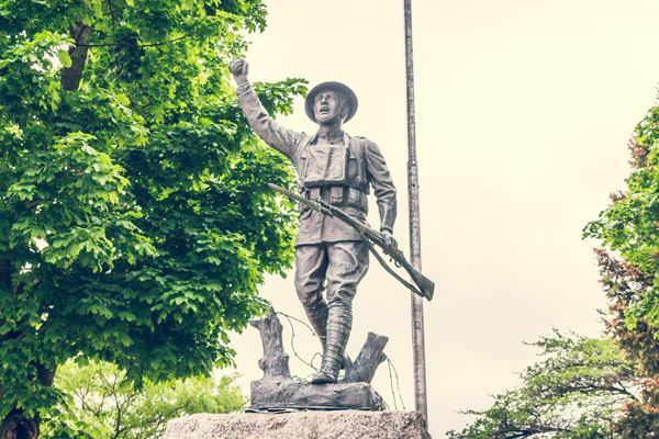 Spirit of the American Doughboy Statue