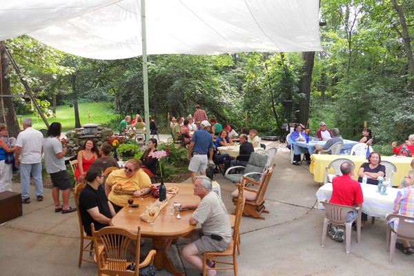 Patio Party at Fermenting Cellars