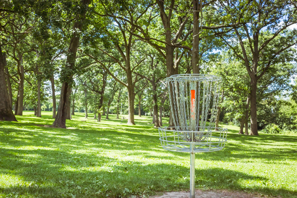 Disc Golf at Lustig Park