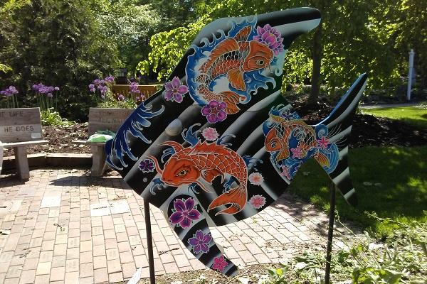 Something Fishy Garden Art Project