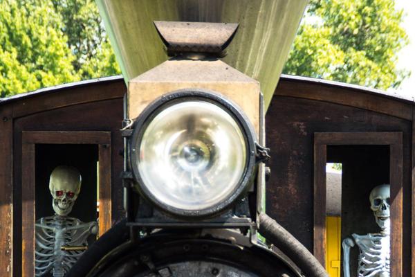 Haunted Train Rides
