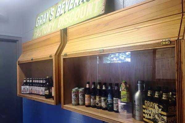 Gray's Owner Brewery Tour