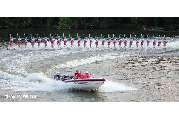 Rock Aqua Jays Water Ski Show