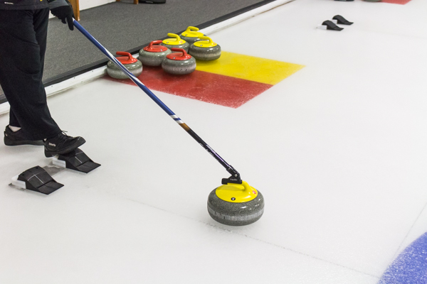 Adults Learn to Curl
