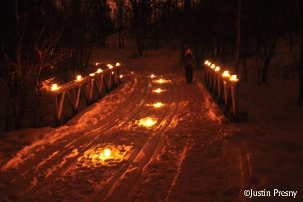Candlelight Hike or Ski