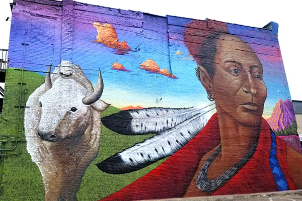 Black Hawk Mural