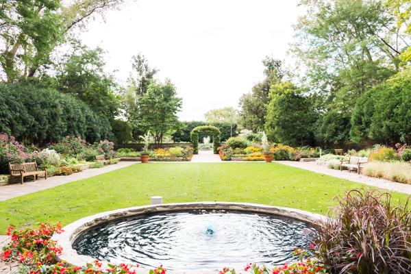 Hula Hooping in the Gardens