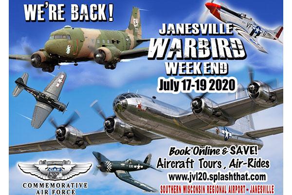 CANCELED Janesville Warbird Weekend