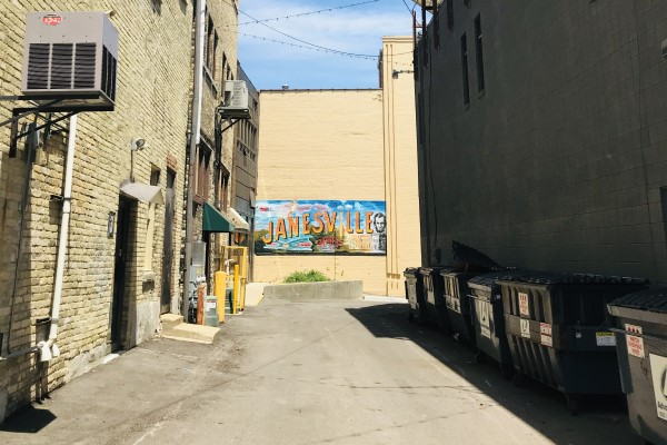 Doty Mill Alley Janesville Mural