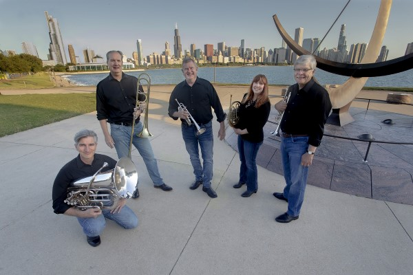Chicago Brass Quintet Christmas