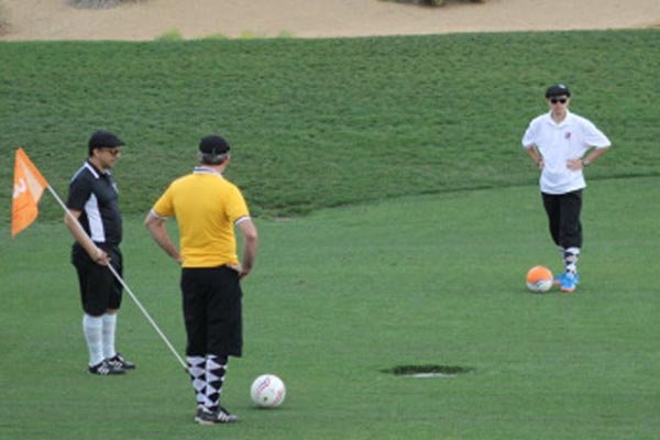 Foot Golf at Prairie Woods Golf Course