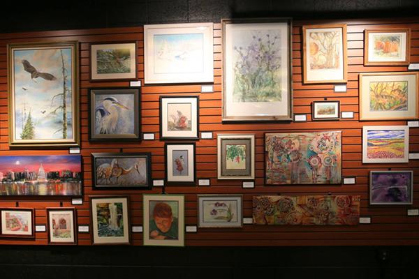 JPAC Art Exhibit: Birds and Flowers