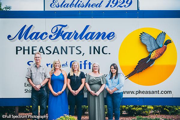 MacFarlane Pheasants, Inc