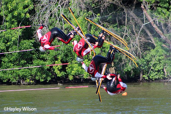 Rock Aqua Jays Water Ski Show